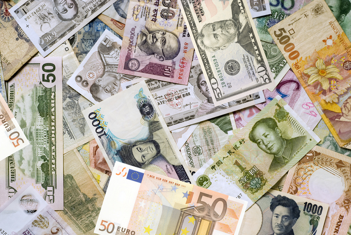 Cash From Multiple Countries