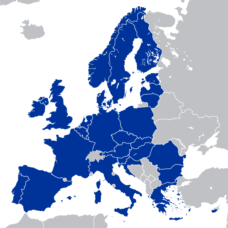 Countries in Europe that require 3D Secure
