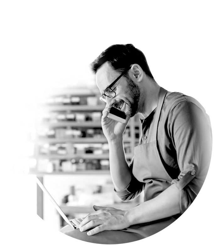 A man considering marketplace payment solutions