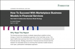 Forrester, Marketplace Business Models in Financial Services