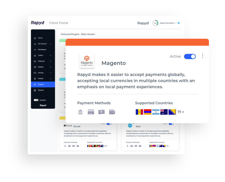 Get started with the International Magento Payment Extension
