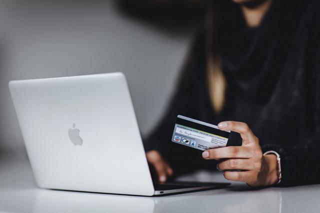 developer laptop save card details using API