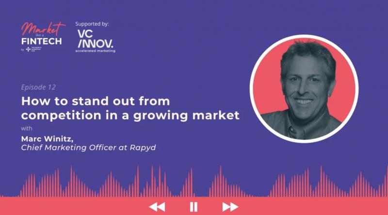 Marc Winitz joined the Fintech Marketing Hub podcast